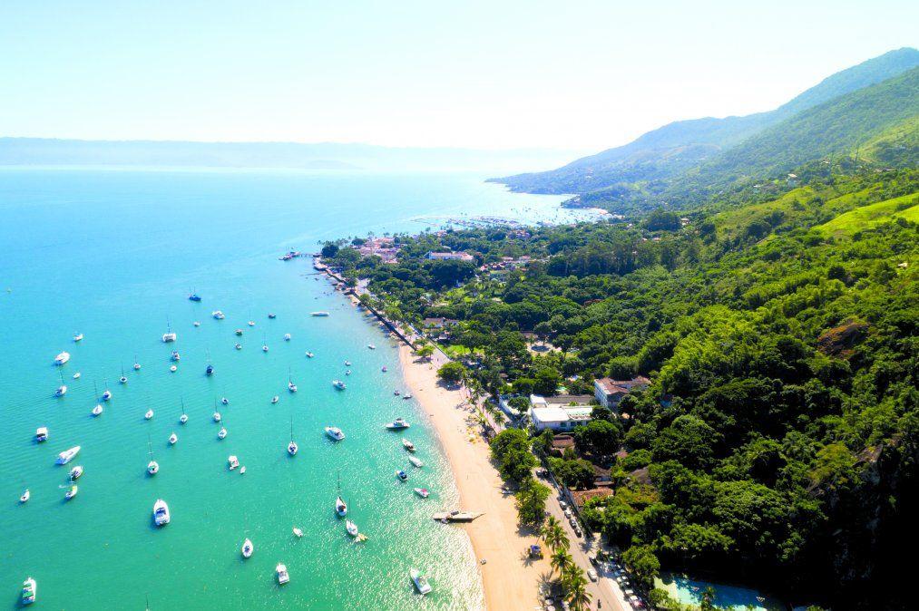 Vista aérea de la magnífica Ilhabela. (Istock)