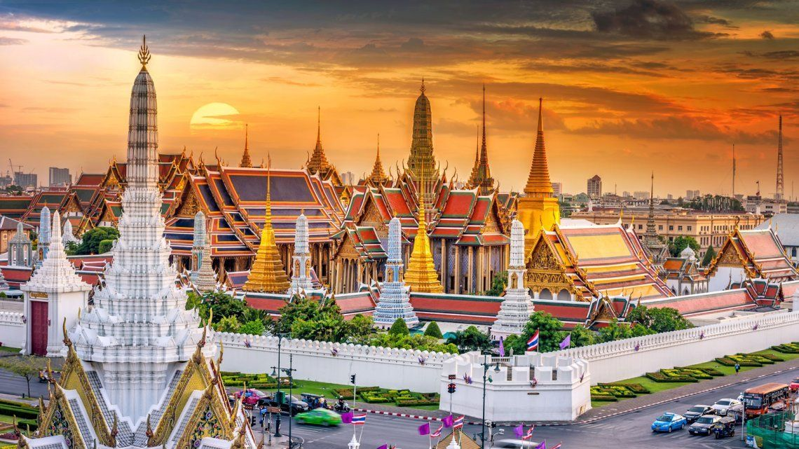 El Grand Palace de Bangkok