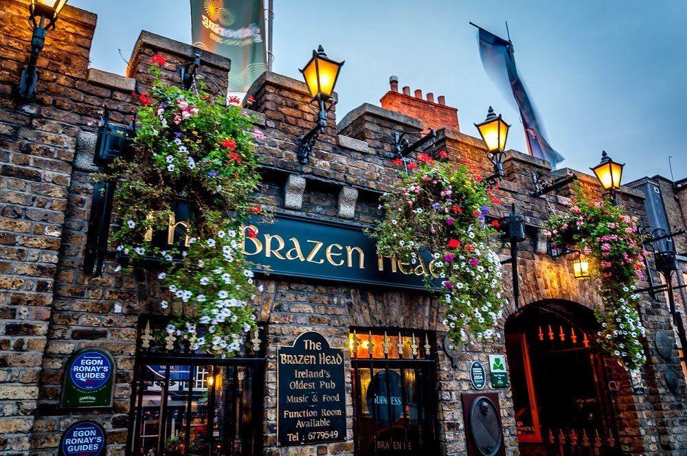 The Brazen Bar es uno de los pubs más famosos de Dublin