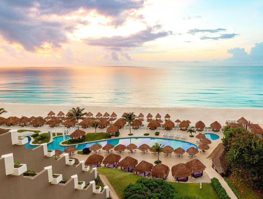 El Hotel Paradisus Cancún se presenta totalmente renovado.