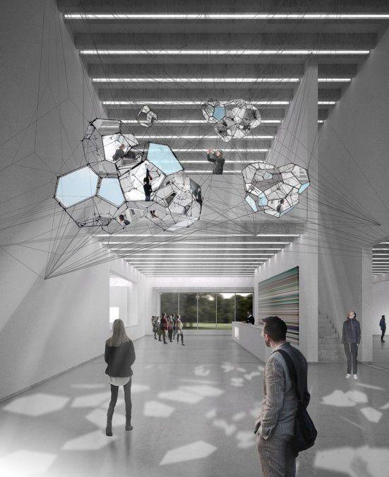 Caracterizado por una arquitectura contemporánea y una exposición multimedia