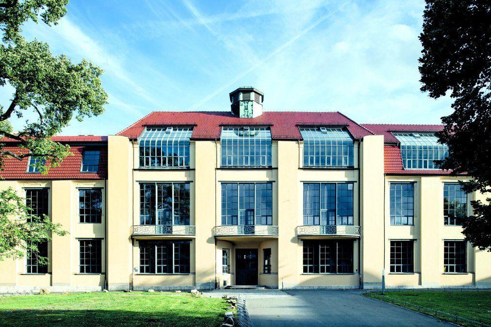 El edificio principal de la Bauhaus-University Weimar