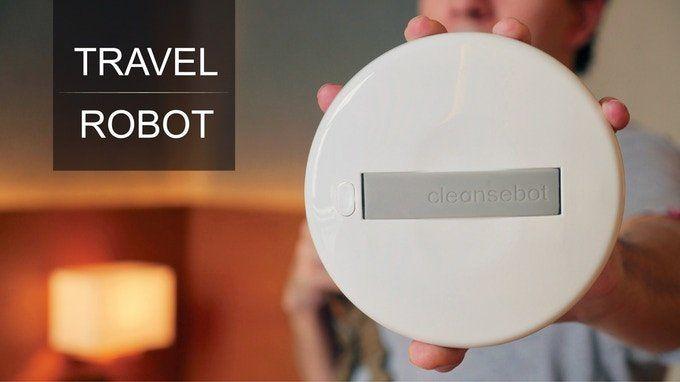 Es fácil de transportar y usar: es el nuevo robot que elimina gérmenes y bacterias.