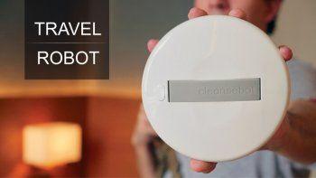 Un robot para eliminar bacterias en los hoteles