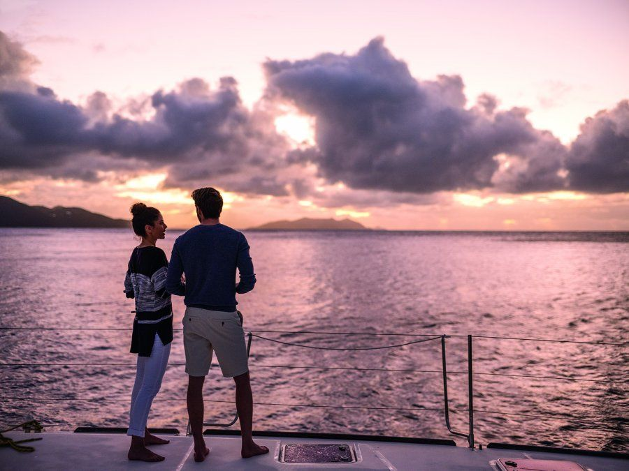 Atardecer en este paraíso ubicado entre el Atlántico y el Caribe. (Foto:Oficina de Turismo de las Islas Vírgenes Británicas)