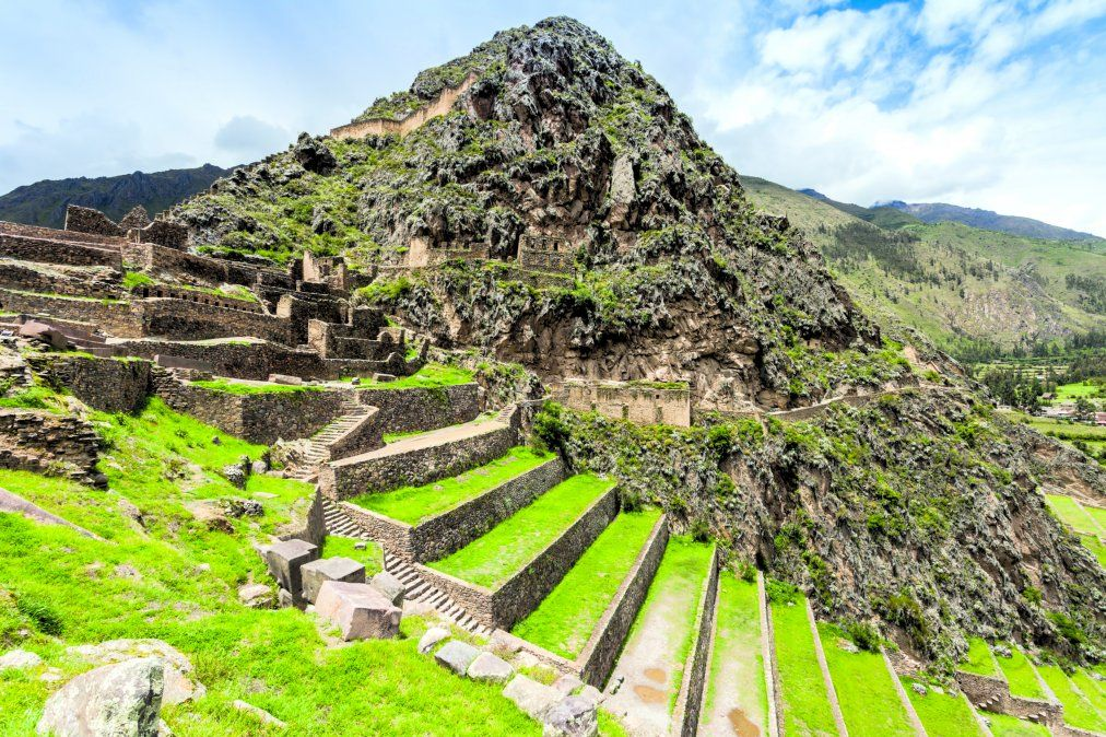 Ollantaytambo es uno de los pocos lugares que mantiene su organización arquitectónica desde la época de los incas. (Foto: Istock/benkrut)
