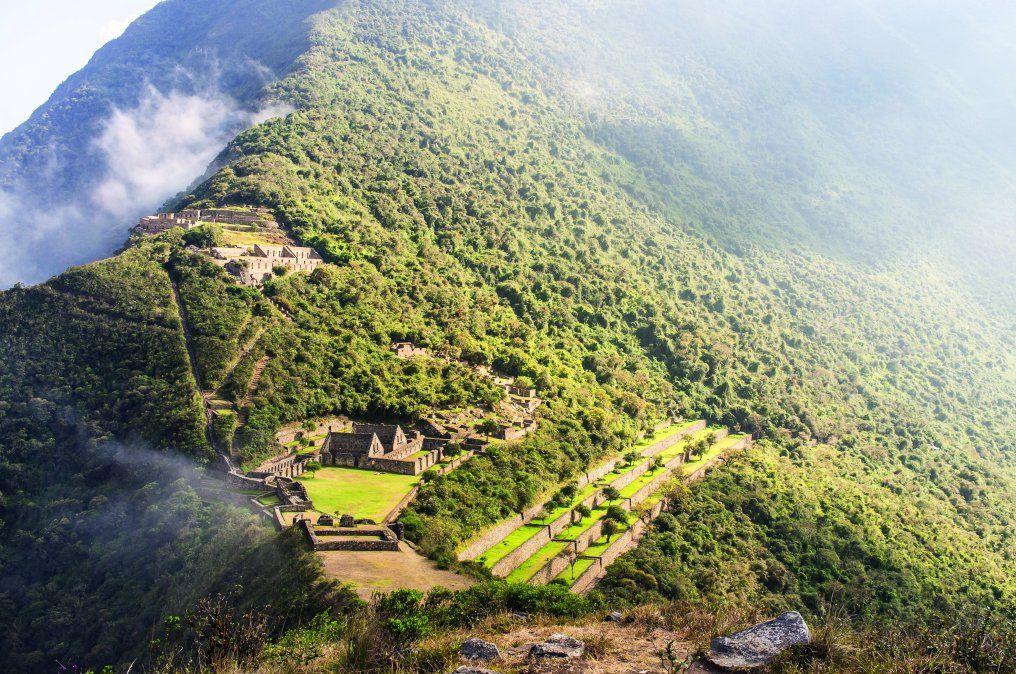 A Choquequirao se accede mediante una ruta de trekking o senderismo