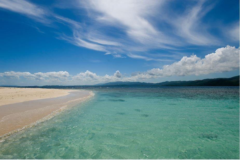 Cayo Arena es una de las posibilidades para relajarse y disfrutar de unas playas paradisíacas.