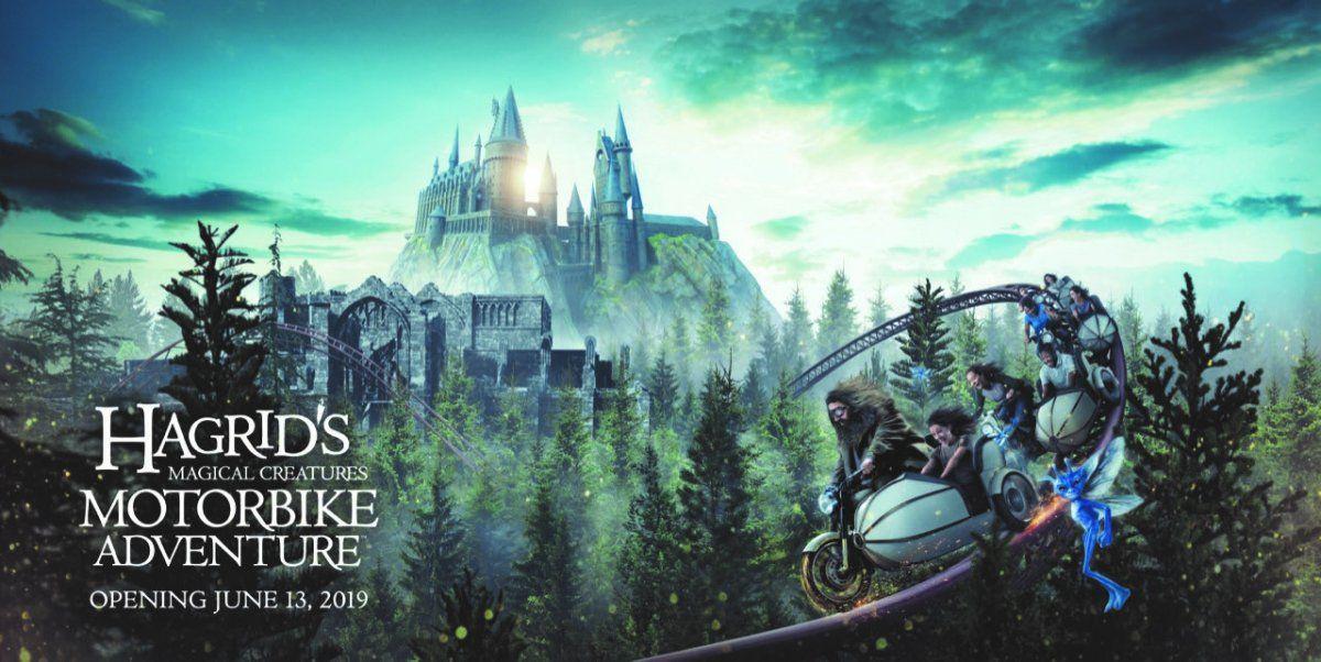 Una de las atracciones que se vienen: una montaña rusa nueva para los fans de Harry Potter.