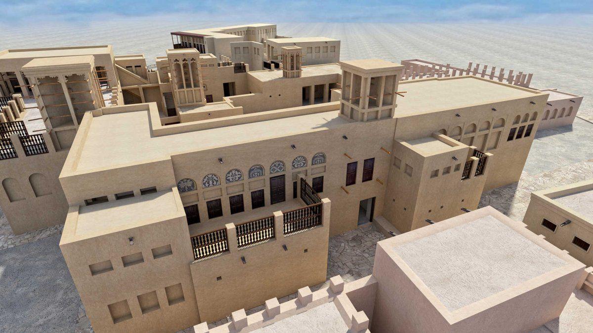 La casa del Sheikh Saeed fue el lugar de nacimiento del Sheik Rashid.