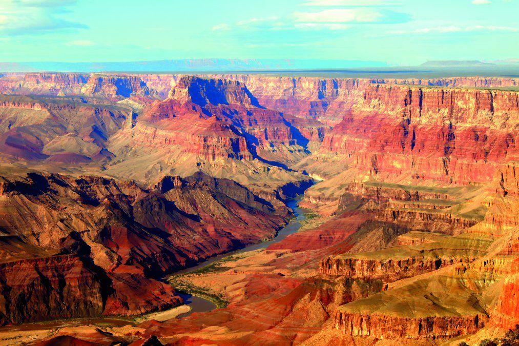 Una maravillosa vista del Gran Cañón. (Foto: Shutterstock Jason Patrick Ross)