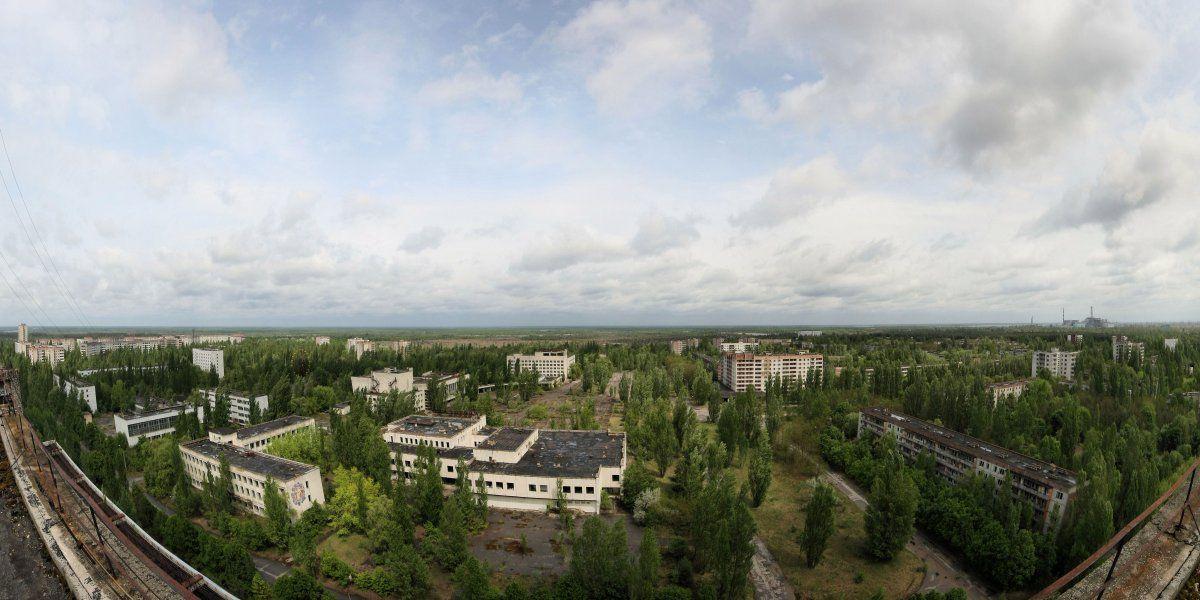 Prípiat recibió los efectos de Chernobyl