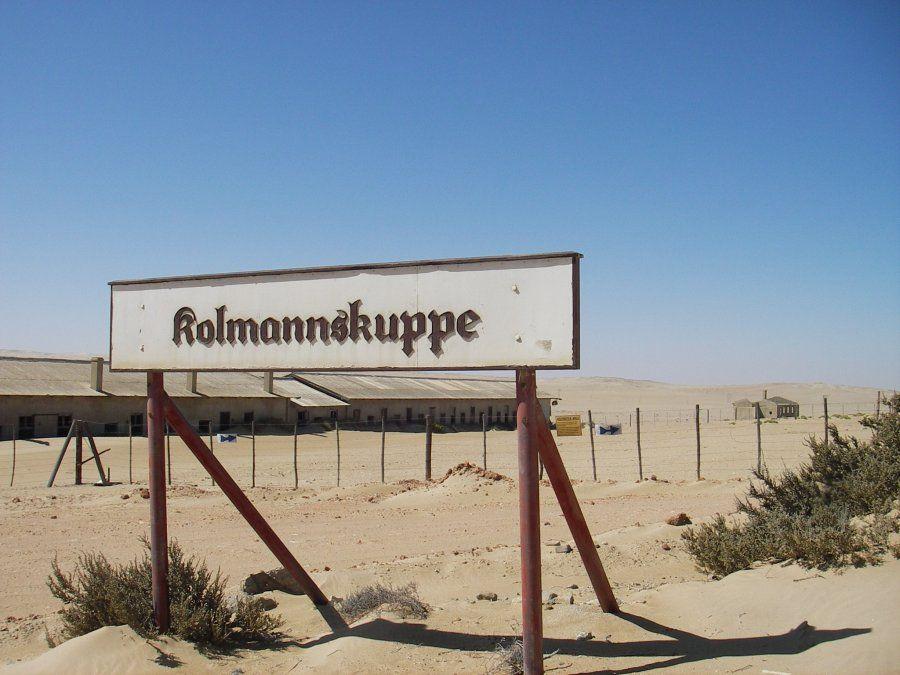 Kolmannskuppe está sumergido en el desierto
