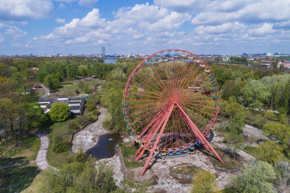 Parque de atracciones Spreepark: inaugurado en 1969