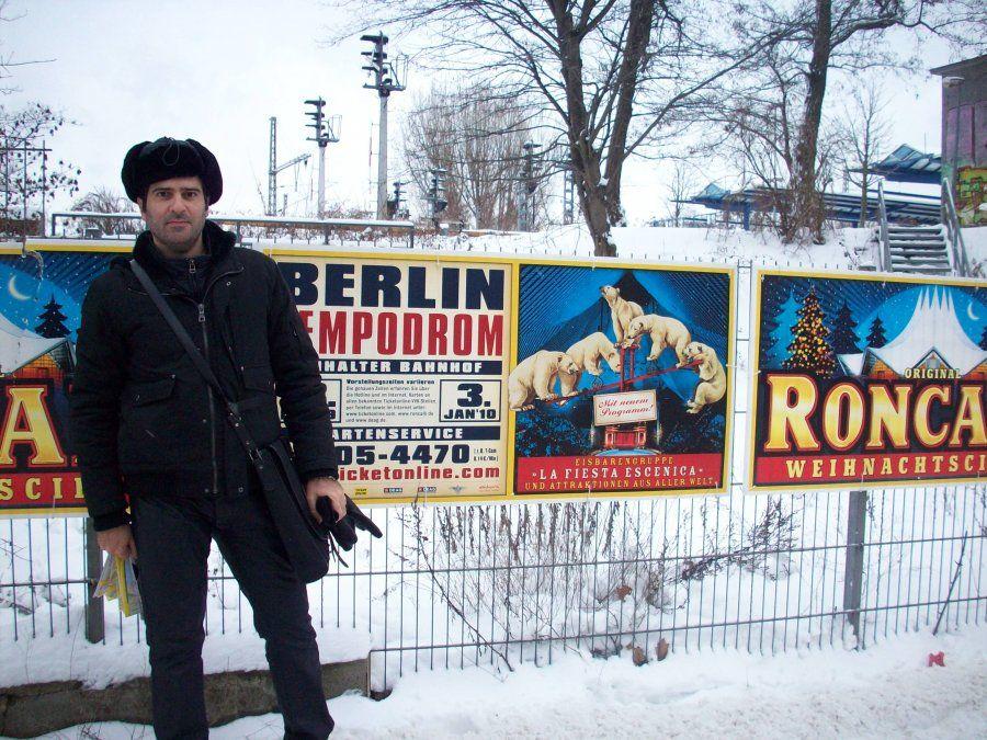 Nieve en Berlín.