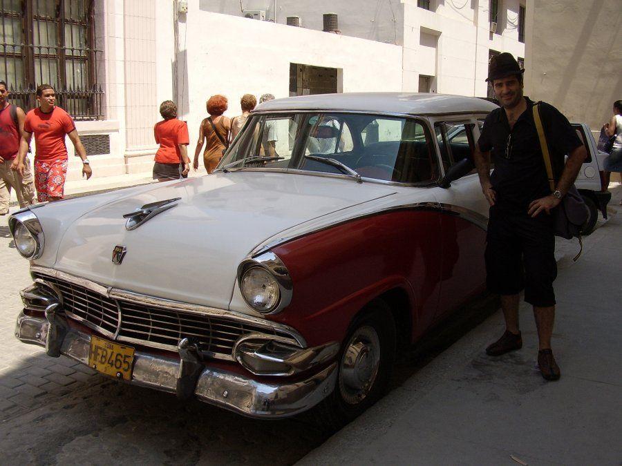 Una postal típica en La Habana.