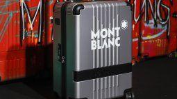 Una de las valijas presentadas por la marca, que brinda más comodidad a la hora de transportar.