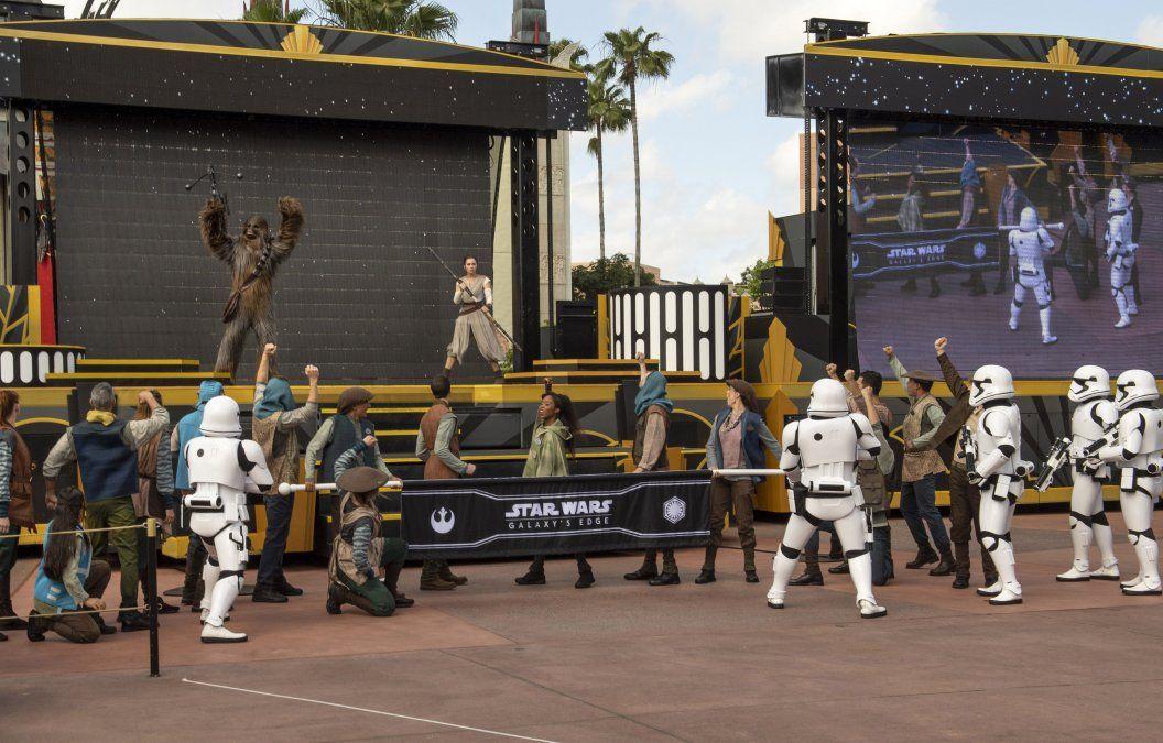 Se estrenó un nuevo paseo que trata sobre Star Wars.