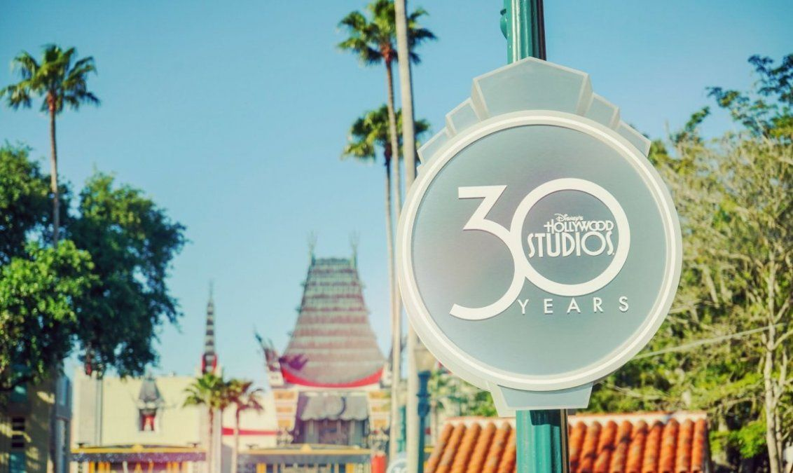 El nuevo logo de Disney Hollywood Studios.