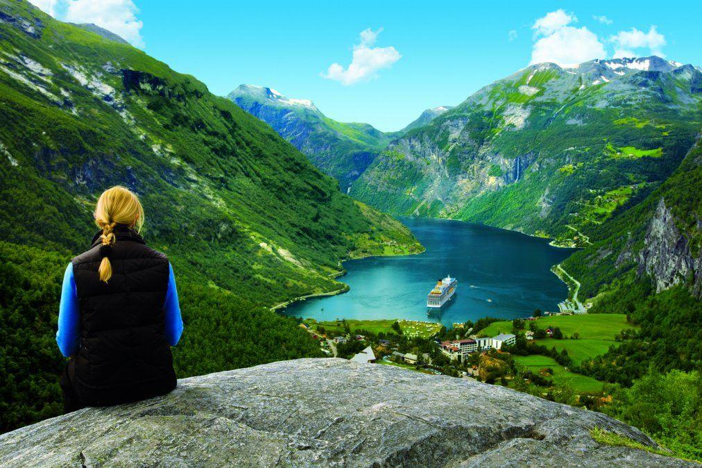 Los fiordos son los principales atractivos en el norte europeo.