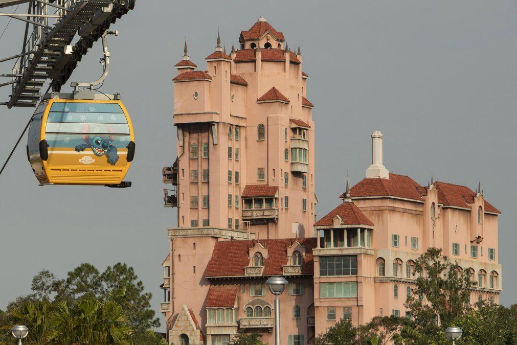 El telesférico unirá Epcot con Disneys Hollywood Studio.