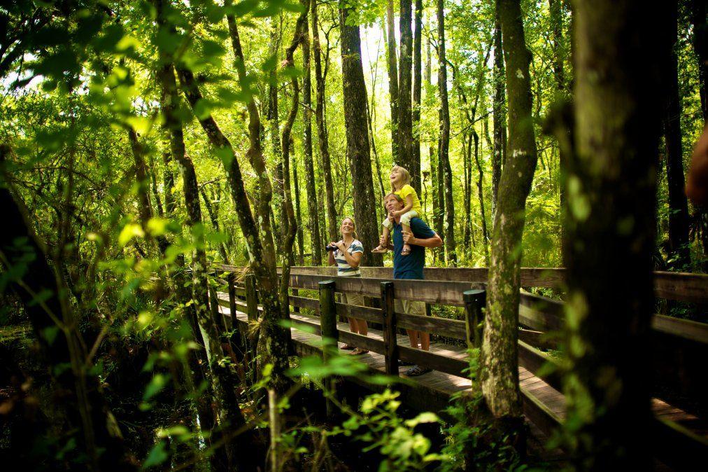 El destino ofrece diversos paseos para estar en contacto con la naturaleza.