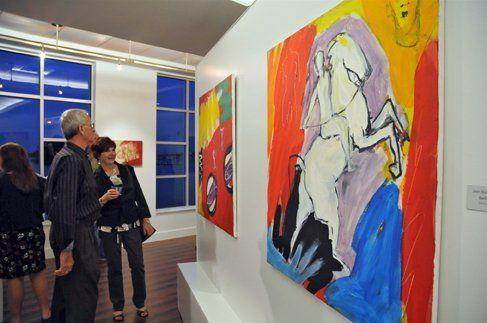 En varios destinos hay galerías de arte. Un imperdible es Matlacha
