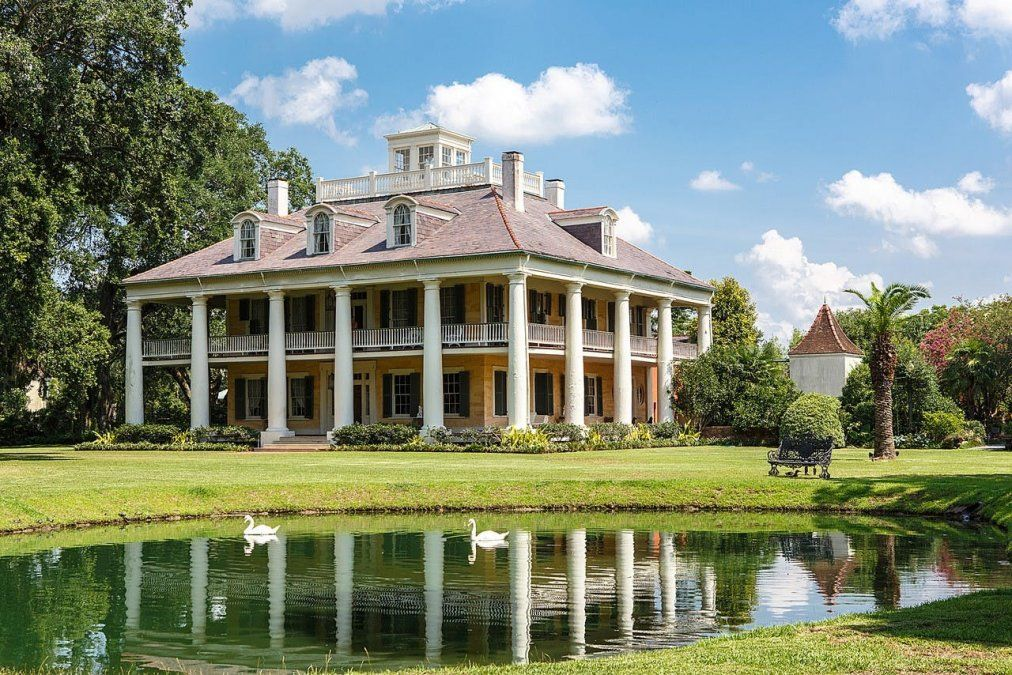 La señorial Houmas House Plantation.