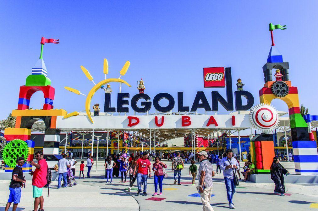 Legoland Dubai es una propuesta ideal para las familias.