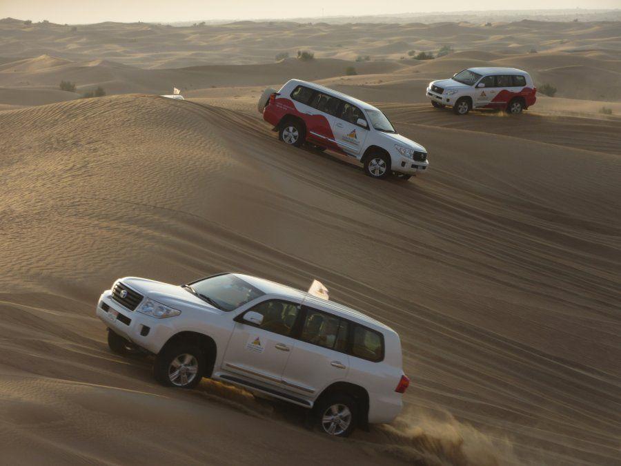 Una aventura en el desierto es el plan perfecto para grandes y chicos.