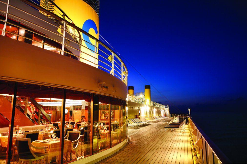 La luna de miel soñada se puede vivir a bordo de un crucero