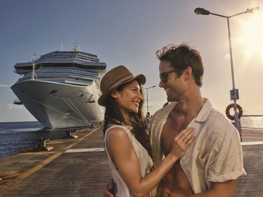 Disfrutá el amor a bordo de un crucero.
