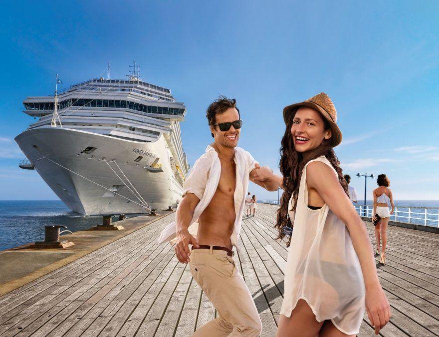Las naves de Costa Cruceros ofrecen diversas opciones para disfrutar de a dos