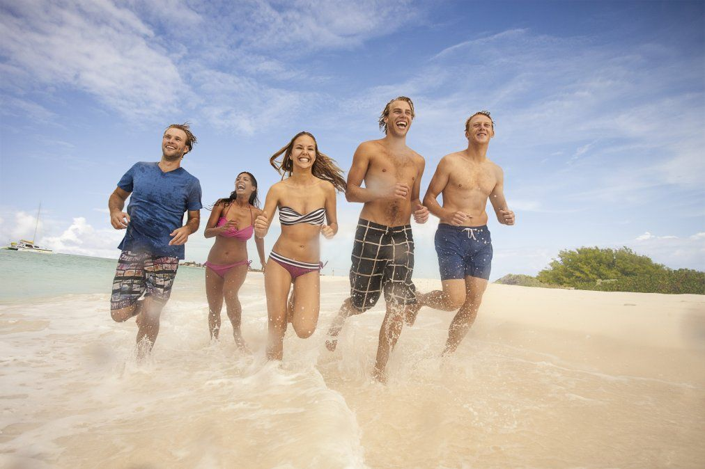 Las paradisíacas playas del enclave caribeño.