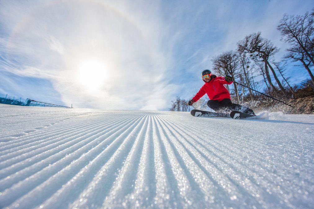 Para los esquiadores