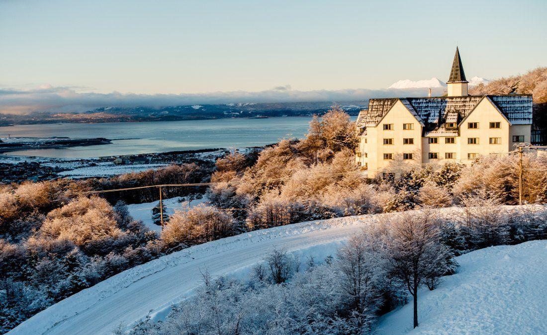 Las Hayas es un complejo de categoría 5 estrellas para los que buscan lujo en Ushuaia.