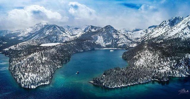 Lake Tahoe cuenta con la mayor concentración de centros de esquí de Estados Unidos.