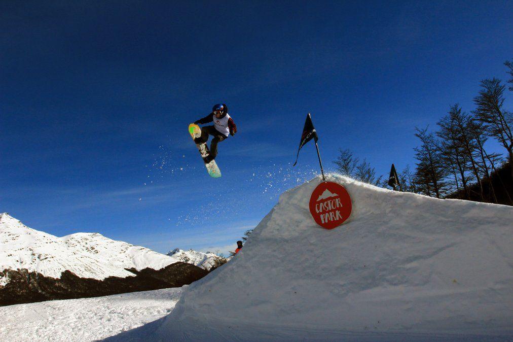 Cerro Castor asegura buena calidad de nieve debido a su ubicación en la ladera sur y también por su latitud.