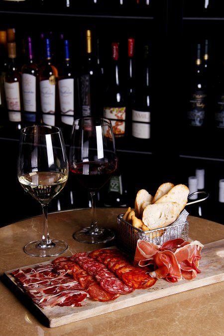 Nuevo Catador Wine Barra en Hotel Cumbres Lastarria