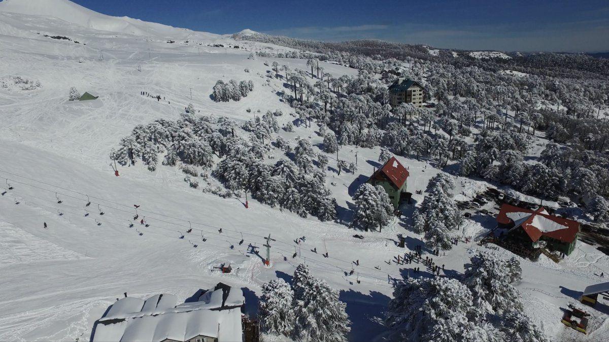Las Araucarias es otra alternativa de esquí en Chile.