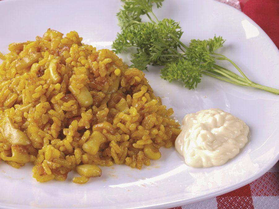 El arroz a banda es uno de los más populares.