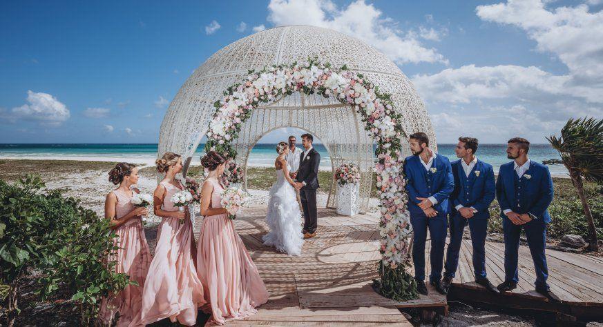 El hotel también es sede de bodas y eventos en general.