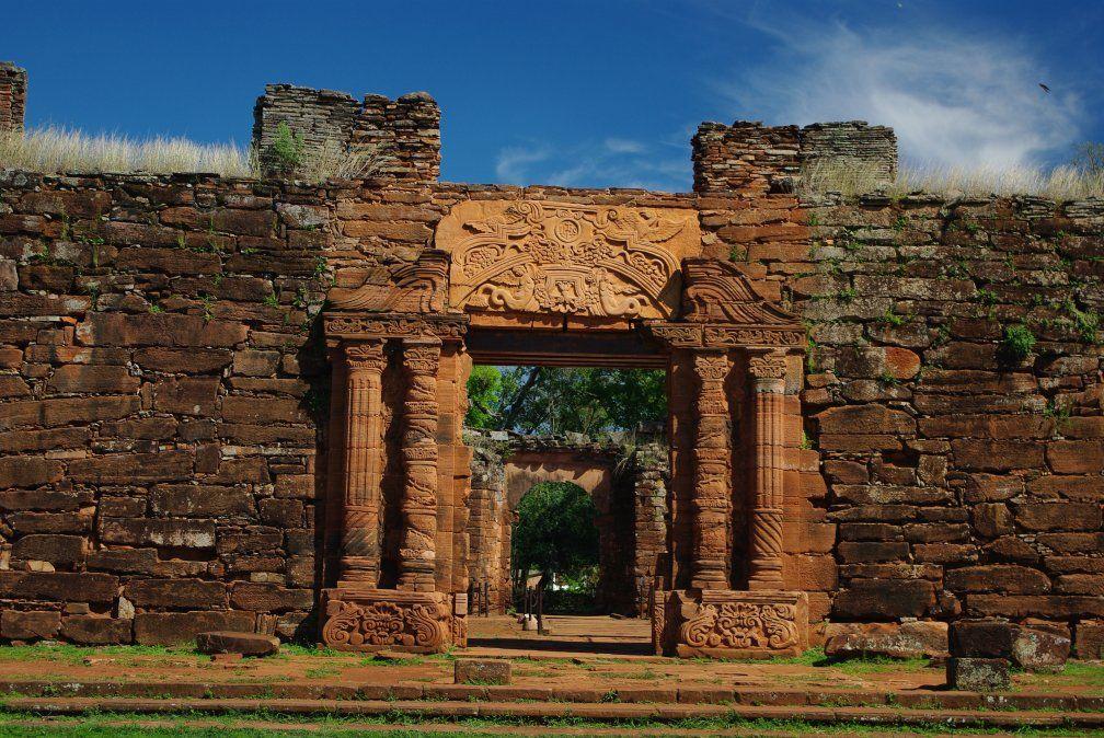 Misiones tiene mucho para ofrecer: en este caso las Ruinas de San Ignacio.
