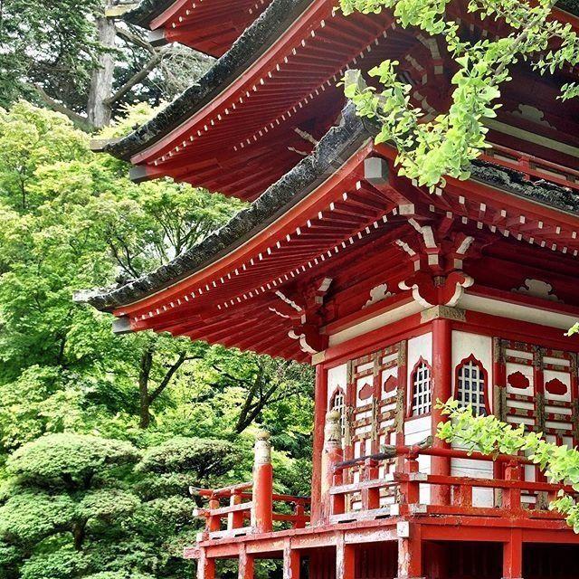 Un lugar recomendado en San Francisco: el Jardín de té japonés.
