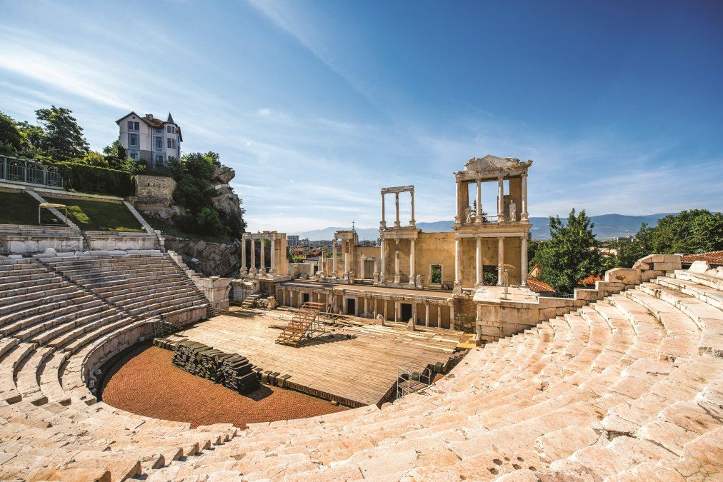 El teatro romano de Plovdiv