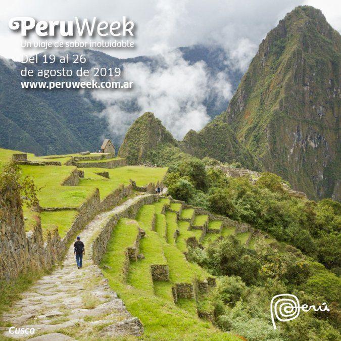El Perú Week se realiza del 19 al 26 de agosto.