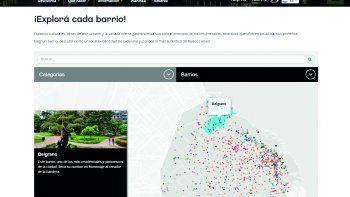 Mapa interactivo de la Ciudad de Buenos Aires