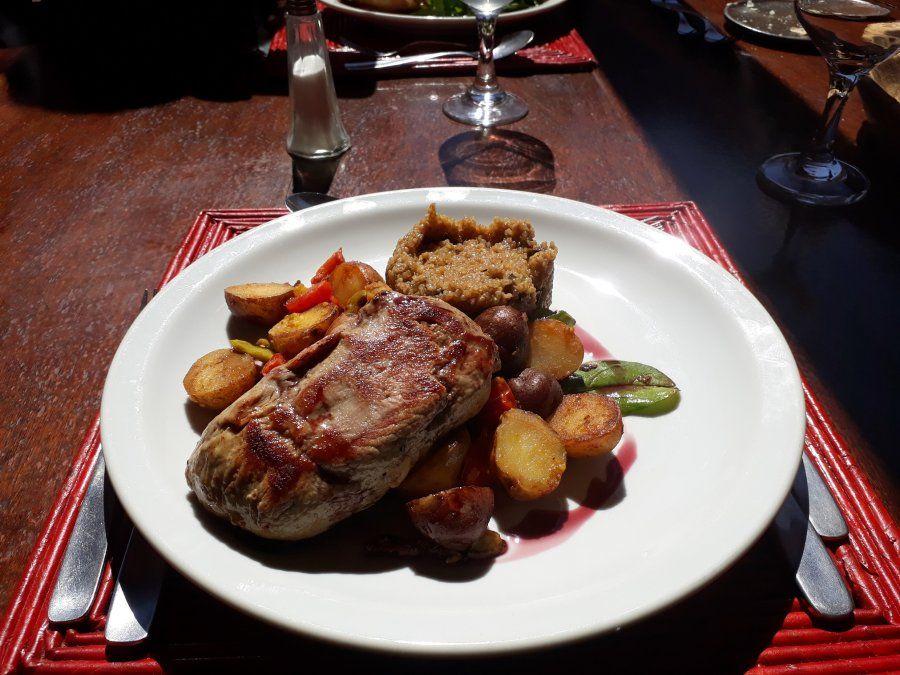 Una de las recomendables delicias del restaurante de El Manantial del Silencio Hotel & Spa.