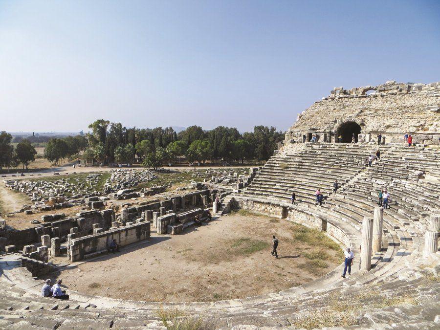 El teatro de Mileto