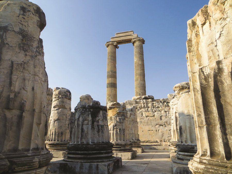 El templo de Apolo de Didyma